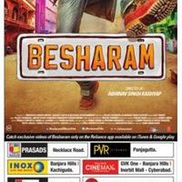 Besharam Movie Hyderabad Theaters