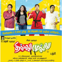 Thillu Mullu Theatre List Poster